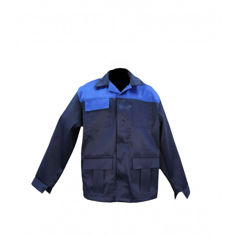 Куртка рабочая Мастер 60-62 рост 170-176 см цвет темно-синий