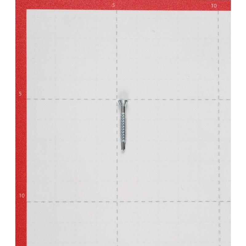 Саморез для массивной доски 25x3.2 мм оцинкованные (500 шт.)