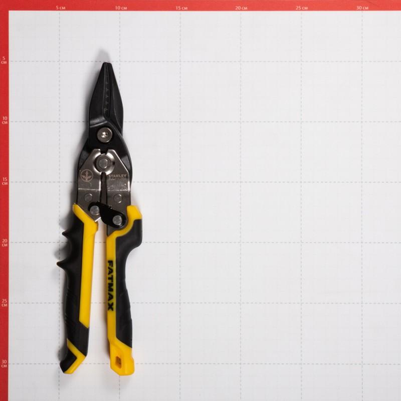 Ножницы по металлу Stanley FatMax Ergo 250 мм прямые (FMHT73756-0) (фото 2)