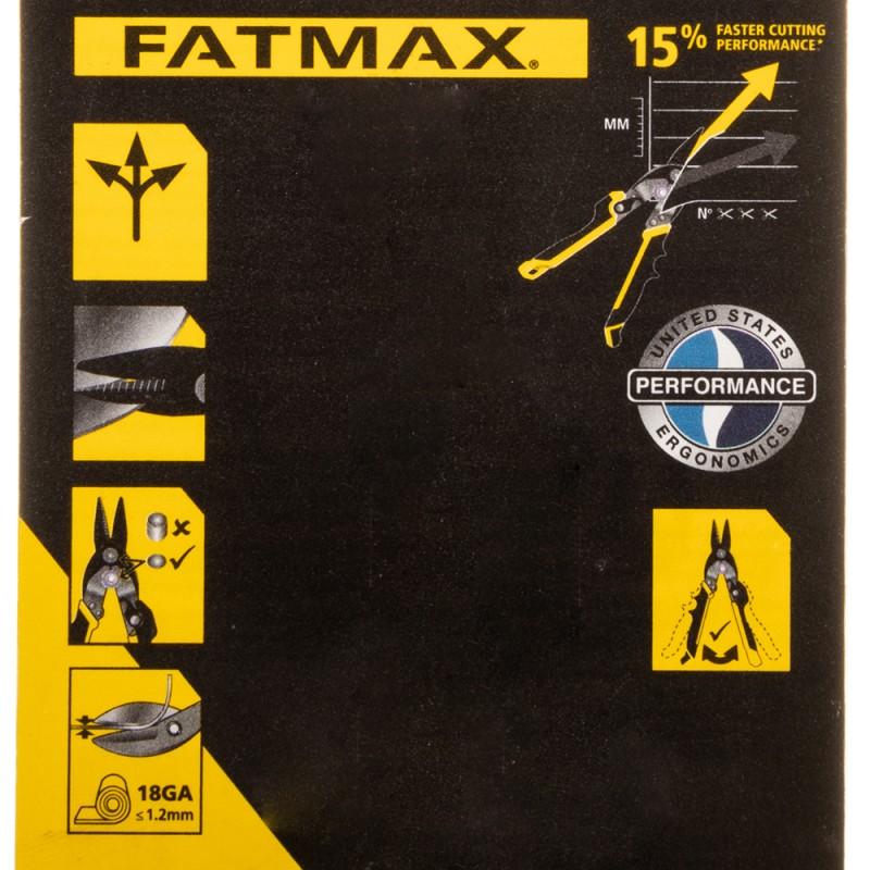 Ножницы по металлу Stanley FatMax Ergo 250 мм прямые (FMHT73756-0) (фото 3)