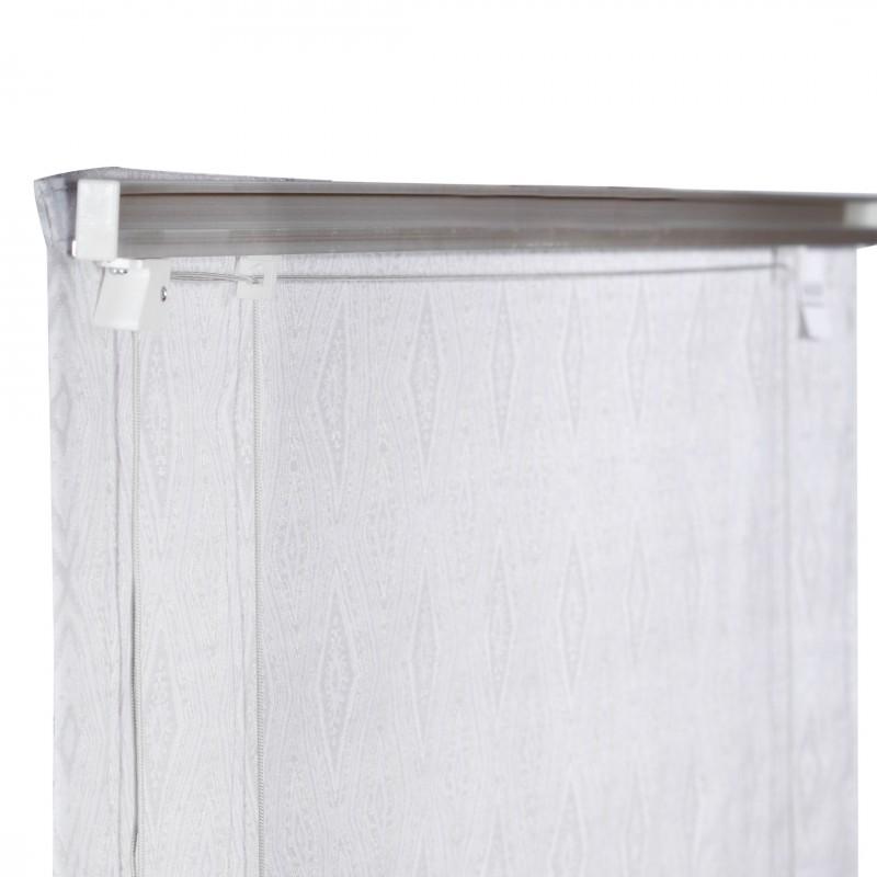 Штора римская Сафари 100х160 см серый (фото 4)