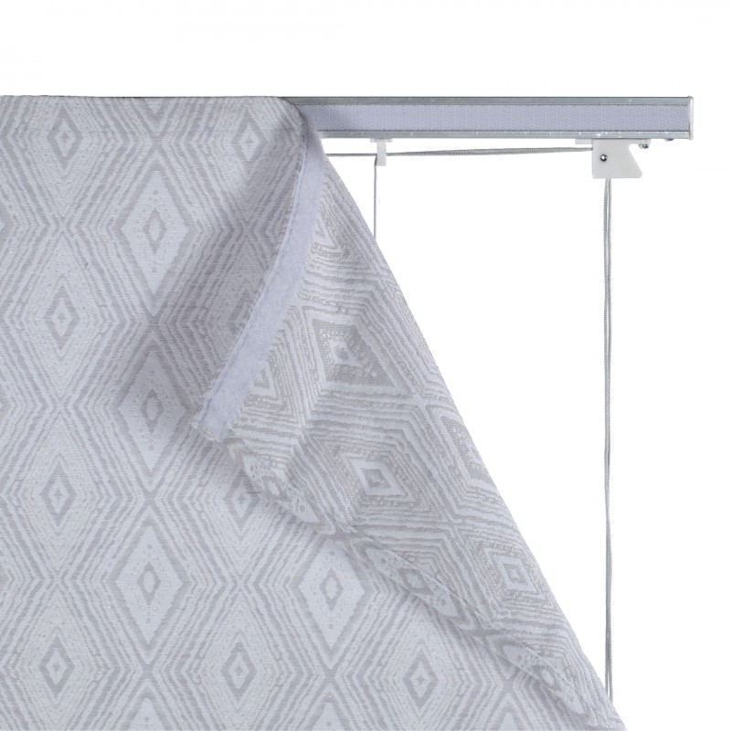 Штора римская Сафари 100х160 см серый (фото 5)