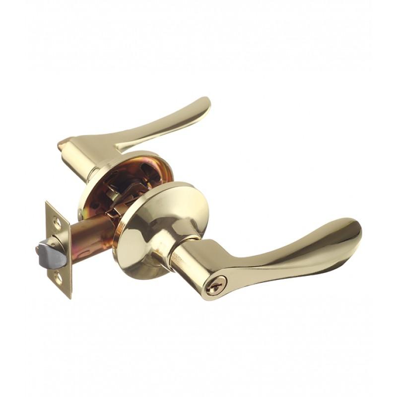 Ручка-защелка Guli 891 ВР ET с ключом (золото)