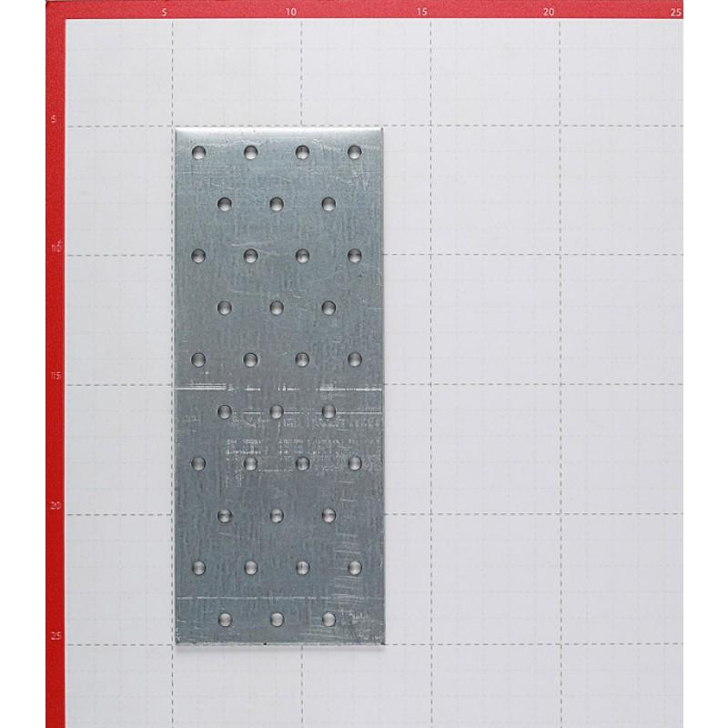 Пластина соединительная оцинкованная 200х80х2.0 мм