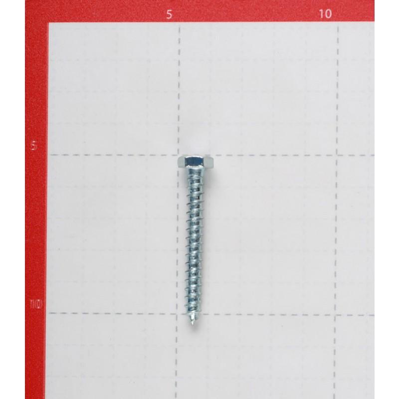 Болт сантехнический 6х50 мм DIN 571 оцинкованный (4 шт.)