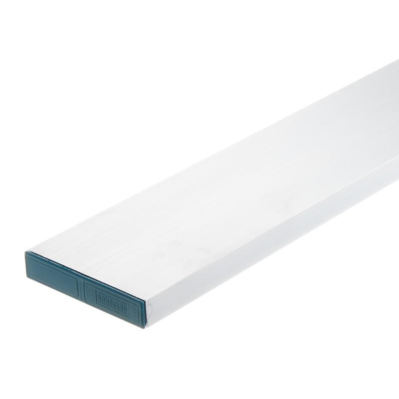 Правило алюминиевое 1 м прямоугольник