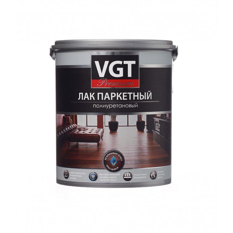 Лак полиуретановый паркетный VGT Premium бесцветный 2,2 кг глянцевый