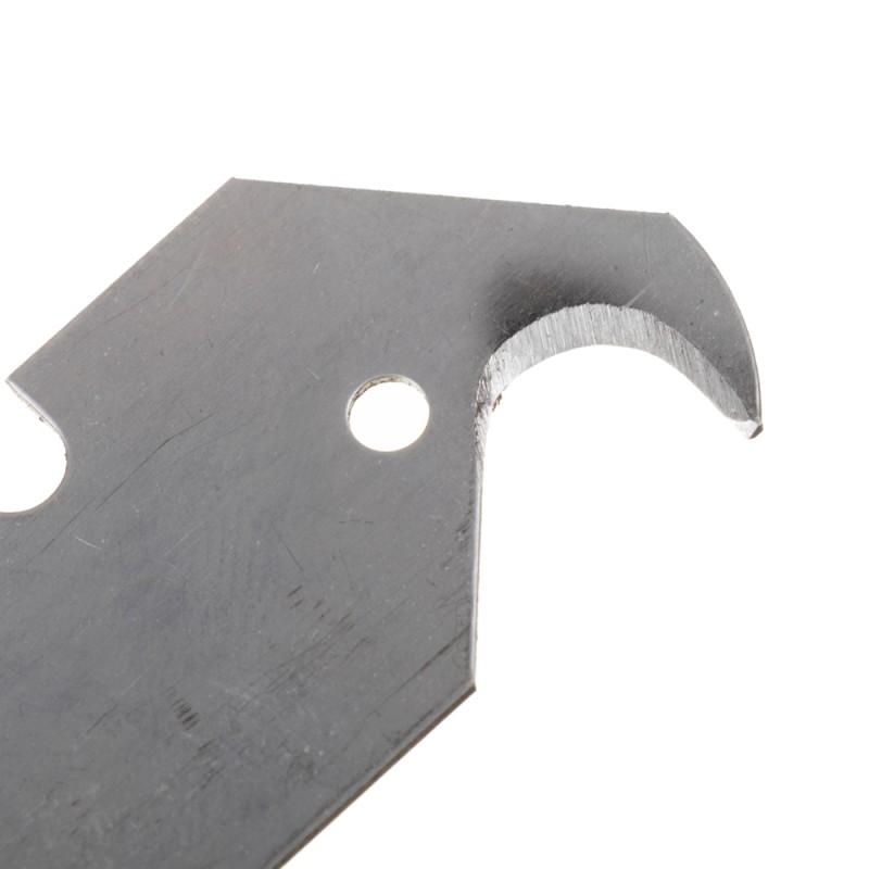 Лезвие для ножа Vira 19 мм крюкообразное (5 шт.)