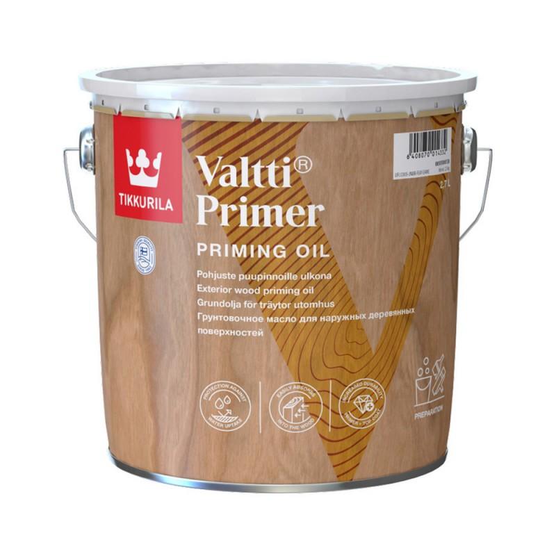 Антисептик Tikkurila Valtti Primer (Pohjuste) грунтовочный для дерева бесцветный 2,7 л