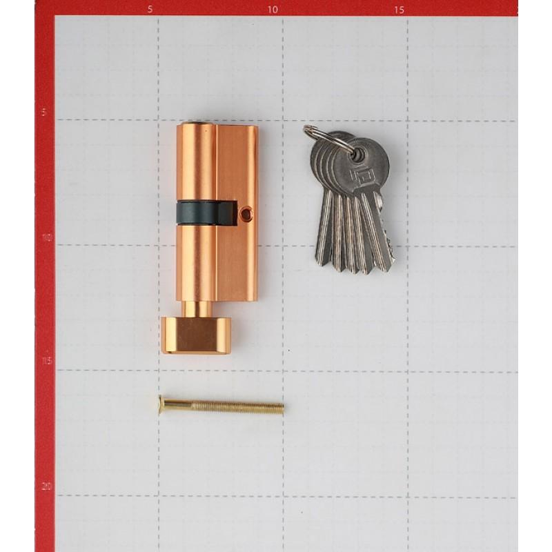 Цилиндр Palladium AL 70 T01 PB 70 (35х35) мм ключ/вертушка латунь