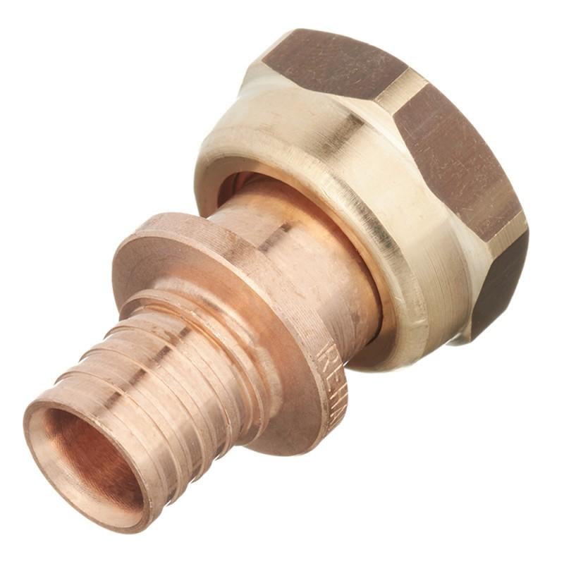 Соединитель прямой RX Rehau (14563351001) 16 мм х 1/2 ВР(г) с накидной гайкой