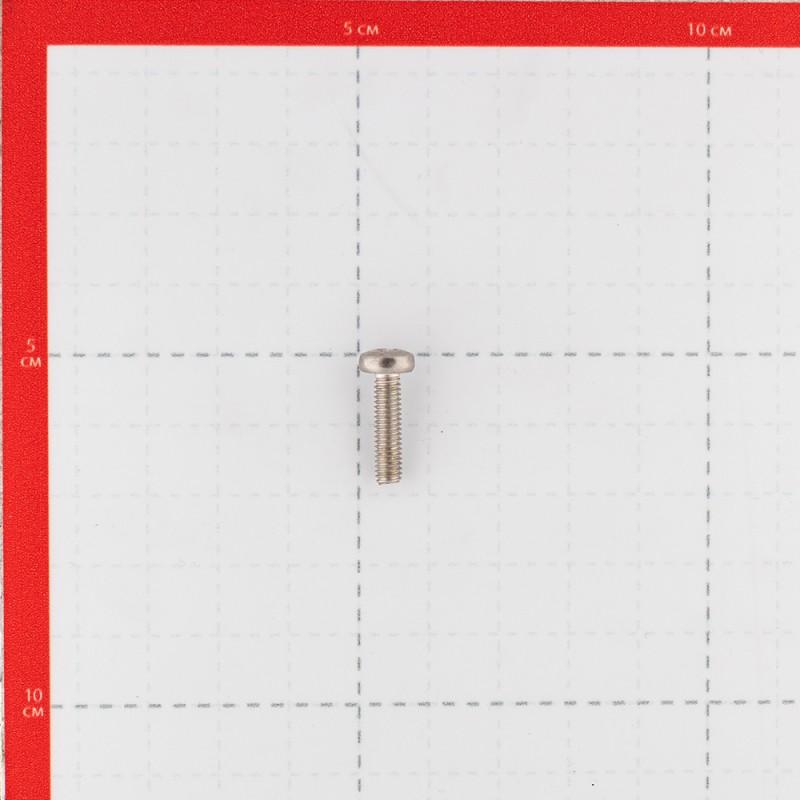 Винт нержавеющая сталь M4x16 мм DIN 7985 полукруглая головка (10 шт.) (фото 3)